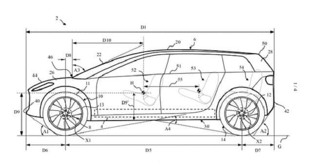 Dyson EV Patent