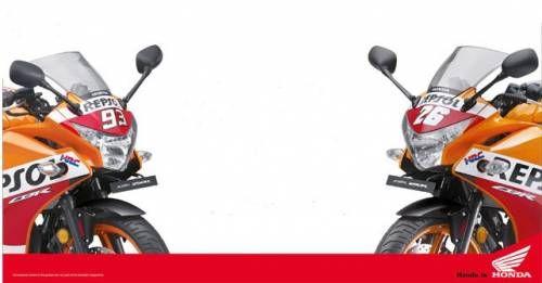 Honda CBR 250R Repsol Livery