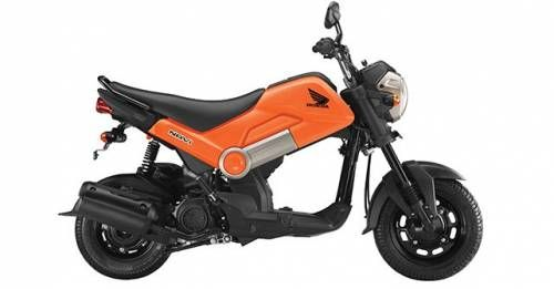 Honda Navi Orange