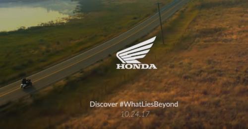 Honda Teaser Upcoming Motorcycle Tokyo Motor Show M