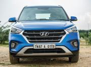 Hyundai Creta front end