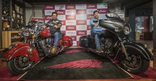 Indian Chieftain Dark Horse India Launch
