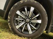 MG Hector alloy wheels