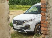 MG Hector front end