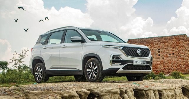 MG Hector Static1