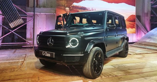 Mercedes Benz G 350d launched at 1.5 crore