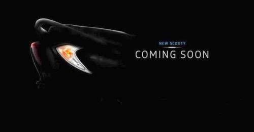 New TVS Scooty Zest 110 Teaser