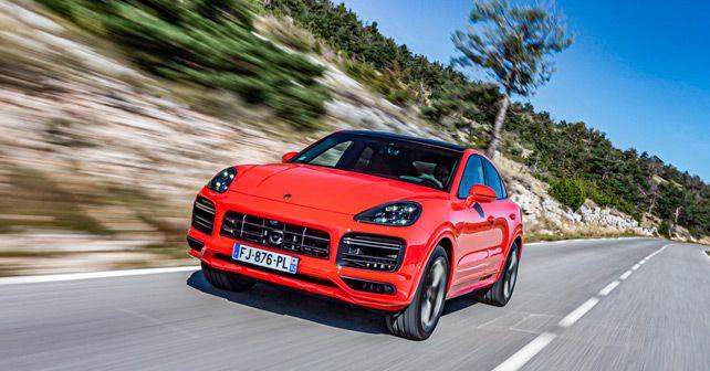 Porsche Cayenne Coupe Front Motion