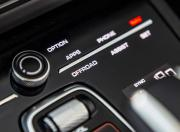 Porsche Cayenne Coupe offroad menu