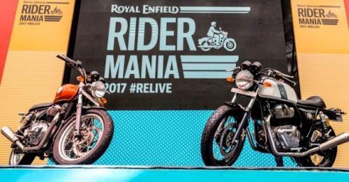 Rider Mania 650 Debut
