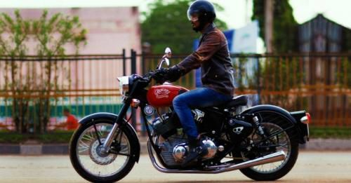 Royal Enfield Based Carberry Bike
