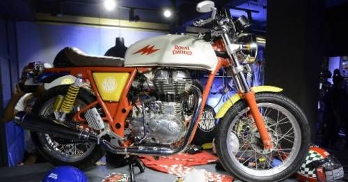 Royal Enfield Happy Socks Collaboration Continental Gt M