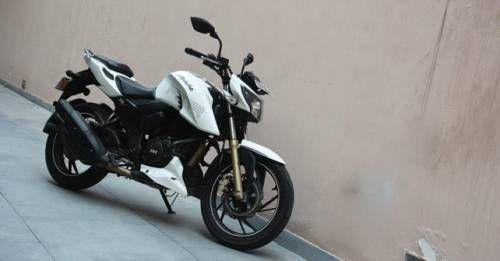 Tvs Apache 200 Rtr Side Profile