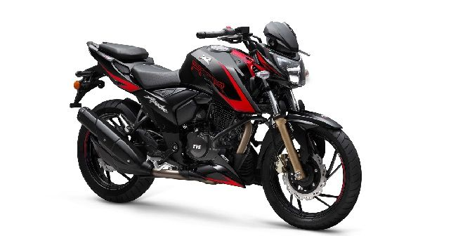 TVS Apache RTR 200 4V With SmartXonnect Technology