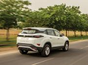 Tata Harrier rear motion