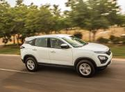 Tata Harrier side motion
