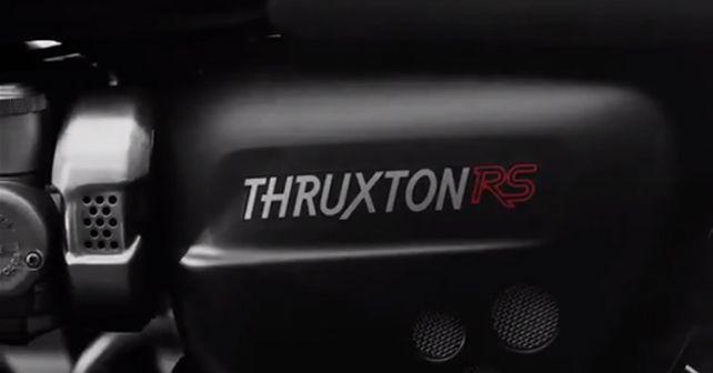 Triumph Thruxton RS Teaser
