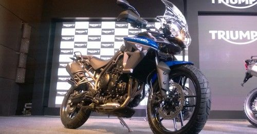 Triumph launches two new Tiger 800s in India