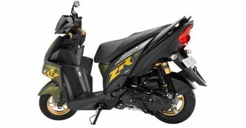 Yamaha Cygnus Ray ZR
