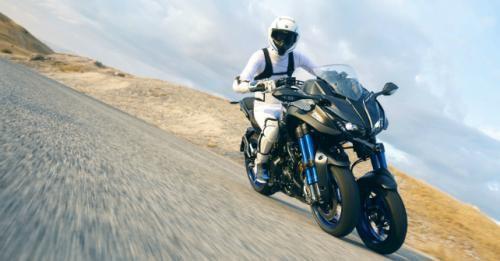 Yamaha Niken Three Wheel Motorcycle Tokyo Motor Show M