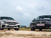 BMW 3 Series  vs  Mercedes-Benz C-Class  - Photos