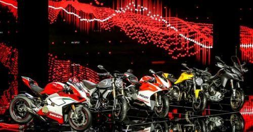 Ducati EICMA 2017 Range