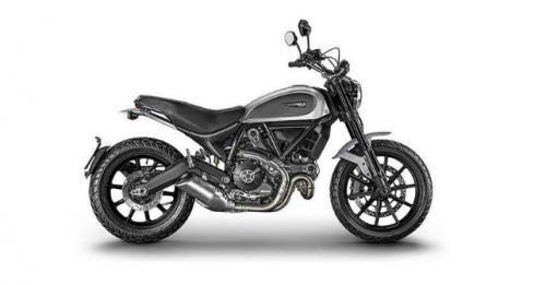 Ducati Scrambler Icon Silver M
