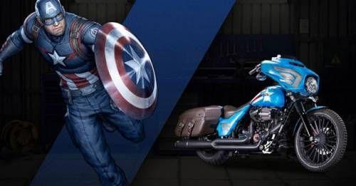 Harley Davidson Marvel Custom Bikes