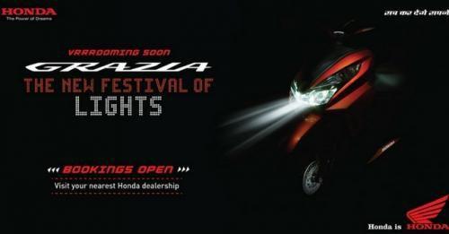 Honda Grazia Teaser