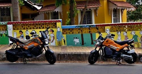 Honda Navi Goa Hunt M1