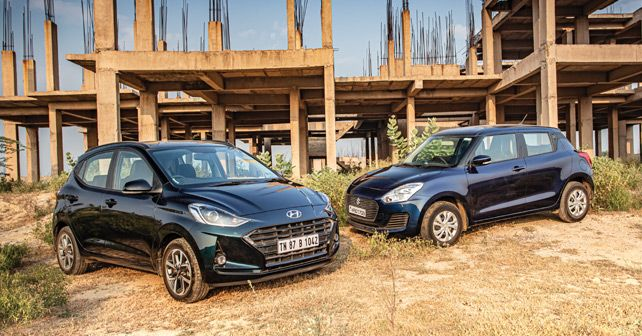 Hyundai Grand I10 Nios Vs Maruti Swift
