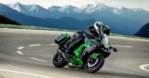 Kawasaki Ninja H2 Sx Front Dynamic