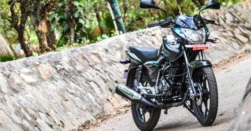 Ride Bajaj Discover May 2014
