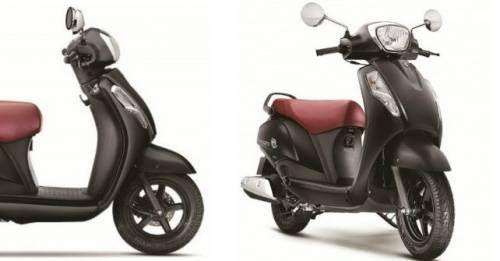Suzuki Access 125 Matte Colour
