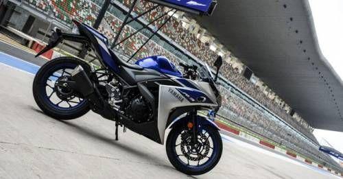 Yamaha R3 Side Profile