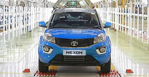 10000 Tata Nexon Ranjangaon Factory