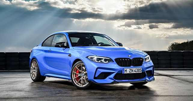 2020 BMW M2 CS in Misano Blue