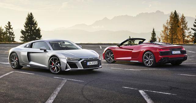 Audi R8 V10 RWD Coupe & Spyder