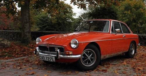 1965 MG MGB GT Mk1 Coupe