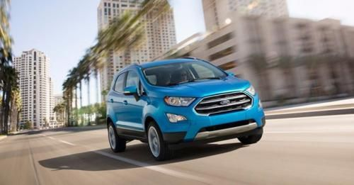2017 Ford EcoSport Facelift Front Motion