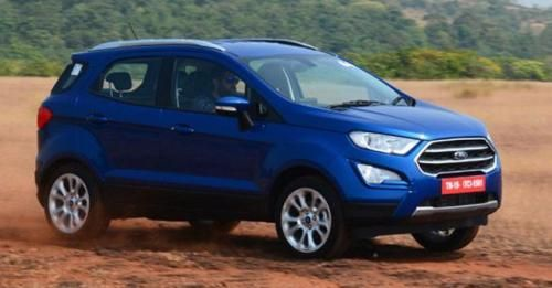2017 Frod EcoSport Facelift Front Motion