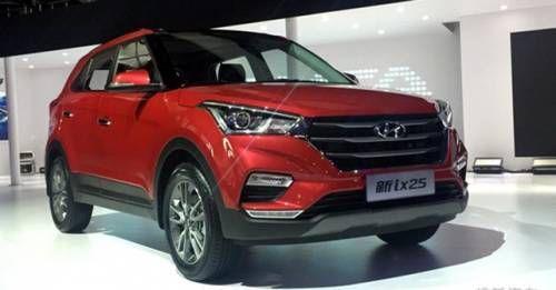 2017 Hyundai Creta Facelift Front