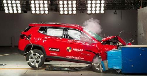 2017 Jeep Compass ANCAP Crash Test Result