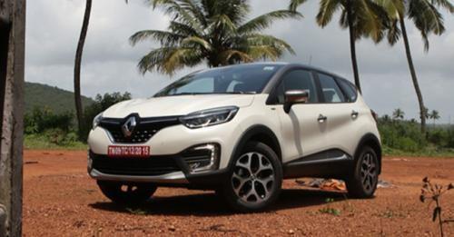 2017 Renault Captur Front Static