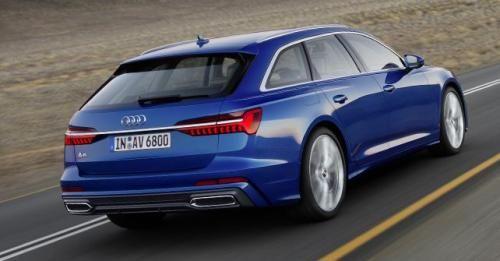 2018 Audi A6 Avant Rear Dynamic