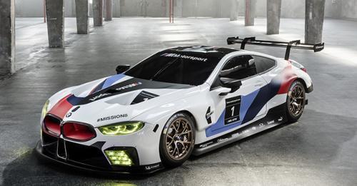 2018 BMW M8 GTE Racecar Front