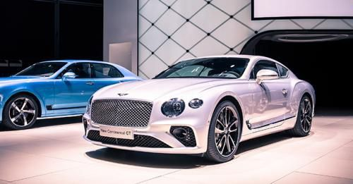 2018 Bently Continental GT Front