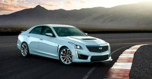 2018 Cadillac CTS V Glacier Metallic Edition