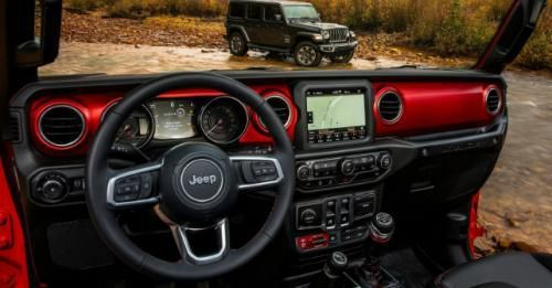 2018 Jeep Wrangler Interior Dashboard M