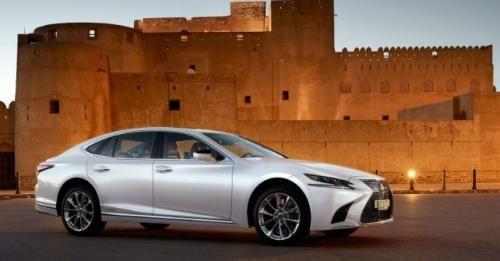 2018 Lexus LS 500h India Launch M